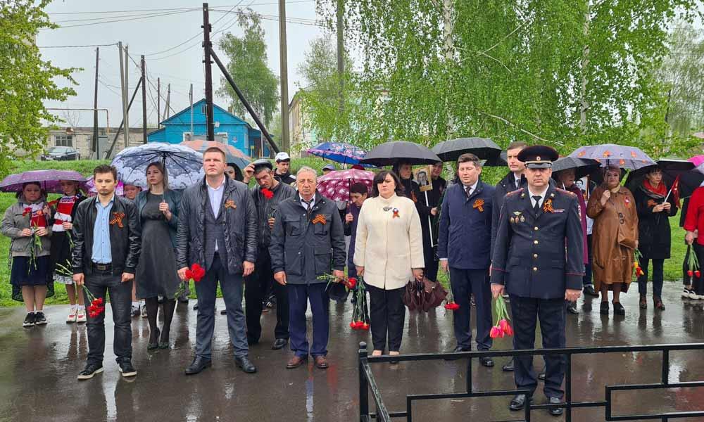 В Мичуринском районе прош.ли торжества в честь Великой Победы.