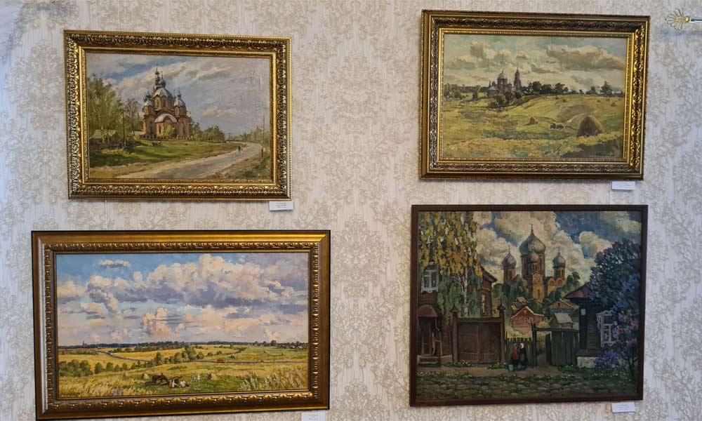 В Мичуринске открылась выставка художника И.Б.Белоусова.
