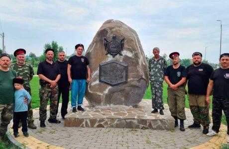 """Казаки """"Союза донских казаков"""" посетили Старочеркасск."""